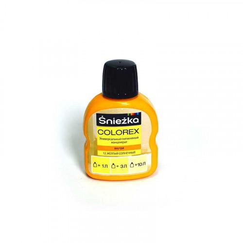 Краситель Снежка Colorex №12 желто-солнечный, 100г