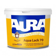 Лак Eskaro Aura Aqua Lack 70, 2,5л
