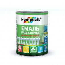 Эмаль Композит акриловая для радиаторов белая матовая 0,75