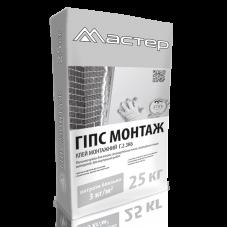 Клей монтажный Гипс-монтаж, 25кг