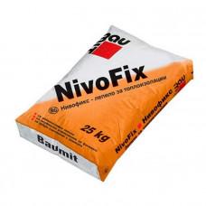 Клей для плит из пенополистирола Nivo Fix, 25 кг